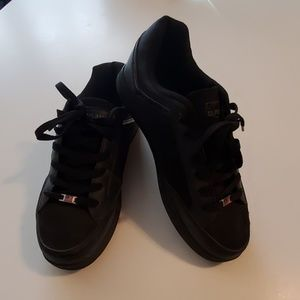 All Black US Polo Association Shoes. Size 10.